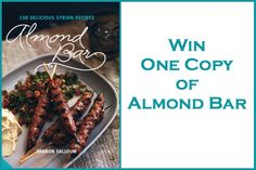 Competition to win a copy of Almond Bar - Middle Eastern Recipe - thanks to greedygourmet