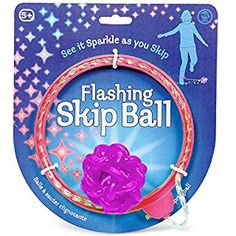 Tobal Flashing Skip Ball ( Pink )
