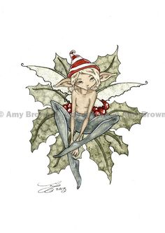 amy brown christmas fairy - Google Search