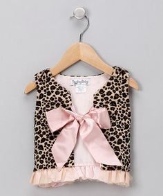 I'm thinking turn around and cute top for little girl.