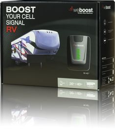 FREE shipping and FREE bonus accessories included with purchase of weBoost Wilson RV 4G 470201 Signal Booster Kit for recreational vehicles.