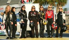 This was a picture of the some regular racers last year but there are now six women leading the charge.
