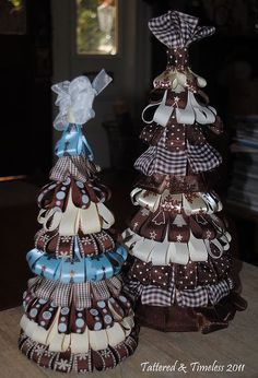 ribbon trees a tutorial, crafts