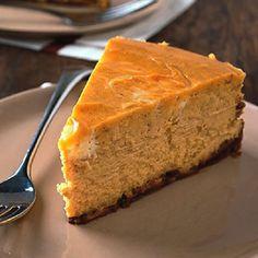 Pumpkin Swirl Cheesecake from Rachael Ray