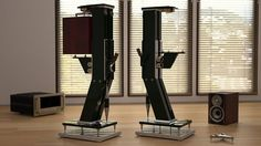 Mono And Stereo High-End Audio Magazine: JTL Audio Professional - Creative Home Design on Appliances Design Ideas with pixels is best pictures in 2018 Hifi Stand, Audio Stand, Speaker Stands, Homemade Speakers, Diy Speakers, High End Speakers, High End Audio, Home Music Rooms, Audio Room