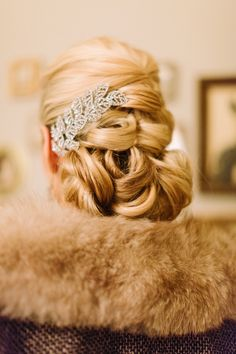 1920s Winter Glam Inspiration Shoot from Haley Sheffield + Southern Vintage Read more - http://www.stylemepretty.com/georgia-weddings/2013/10/16/1920s-winter-glam-inspiration-shoot-from-haley-sheffield/
