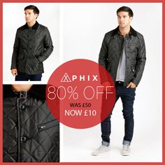A Massive 80% Off This Duke Jay Jacket Black...    Was £50 - Now £10!