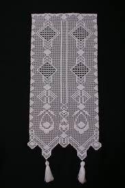 gardine geometrisch 1 vorhang filet h keln anleitung. Black Bedroom Furniture Sets. Home Design Ideas