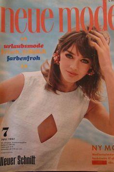 Vintage Neue Mode, Juli 1967 mit Schnittmusterbögen - Retromode zum Selbernähen  | eBay
