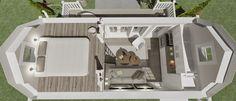 """Här är hon - """"Kristina"""" - den nya medlemmen i Attefallsfamiljen.  Ett bygglovsfritt hus på 25 kvadratmeter med en nockhöjd på 4 meter.    ..."""