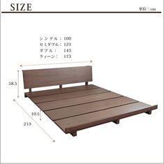 Scandinavian Style: Decorating Tips & Photos - Home Fashion Trend Wood Bed Design, Bed Frame Design, Diy Bed Frame, Built In Furniture, Pallet Furniture, Furniture Design, Indian Home Decor, Diy Home Decor, Home Design Software