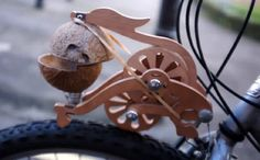 One of our top 3 green gift ideas for the cyclist in your life...Trotify! The bike hack that makes your bike sound like a horse. (Monty Python style)