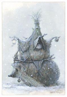 Jean Baptiste Monge....mais voyons les hérissons hibernent ! ^^ mais c'est trop beau