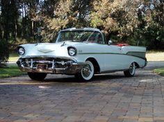 March 2013 Palm Beach Auction 1957 Chevy Bel Air Convertible