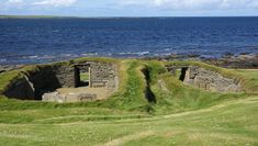 Knap-of-Howar La ferme de Knap of Howar en Écosse