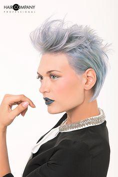 HAIR COMPANY PROFESSIONAL www.myhaircompany.it Hoop Earrings, Hair, Collection, Jewelry, Fashion, Moda, Jewlery, Jewerly, Fashion Styles