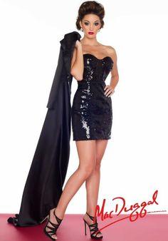 MacDuggal Dresses61681R Dress at Peaches Boutique
