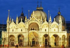 Amazing Churches and Cathedrals: St. Mark's Basilica, Venice, Italy