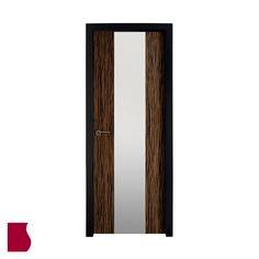 Modelo L3 VT ÉBANO ALTO BRILLO MADERA OSCURA / Colección Lisa / Puertas de interior Sanrafael