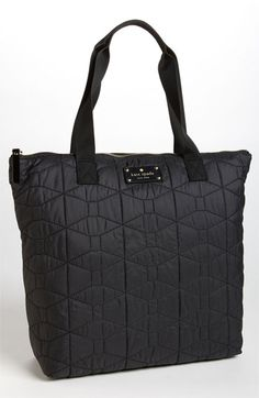 I think i have to have this TOO! Could double as a baby bag, right?!?!? :)    kate spade new york embroidered bon shopper