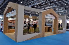 Coillte/Medite exhibition stand at Ecobuild 2013, reused in 2014, is created exclusively from the brand's sustainable products to showcase it's versatility and longevity. The stand won the Ecobuild and UK Green Building Councils 2013 Award for the best sustainable stand at Ecobuild and was a resounding success for our Client. #exhibitionstand #popup
