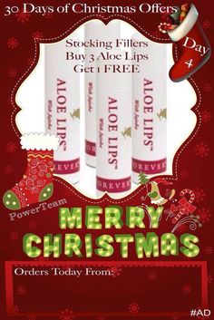 Day Pucker Up! Don't let the winter weather ruin your pout this Christmas 💋🎄 The perfect little treat for stocking fillers! Aloe Lips, Mini First Aid Kit, Forever Living Business, Christmas Offers, Kissable Lips, Chapped Lips, 30 Gifts, Forever Living Products, Stocking Fillers