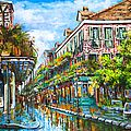 A Beignet Morning Painting by Dianne Parks