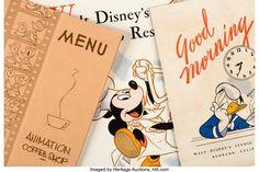 レイム・オー コレクション: 2019 December Animation Art Signature Auction Walt Disney Studios, Menu Restaurant, Coffee Shop, Good Morning, Auction, Animation, Coffee Shops, Buen Dia, Coffeehouse