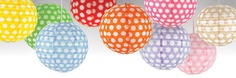 polka dot lanterns for any occasion