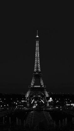 #wallpaper#paris#eiffer tower#black and white