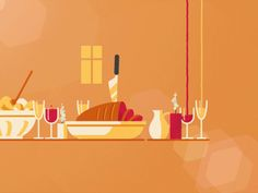Dinner Table designed by Fraser Davidson for Cub Studio. Connect with them on Dribbble; the global community for designers and creative professionals. Gifs, Kinetic Type, Vector Animation, 3d Video, Live Picture, Animation Reference, Cool Animations, Cartoon Pics, Cute Gif