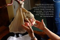 A GUIDE ON HOW TO POSITION A NEWBORN IN A SLING PROP – SAFELY AND SNUGLY