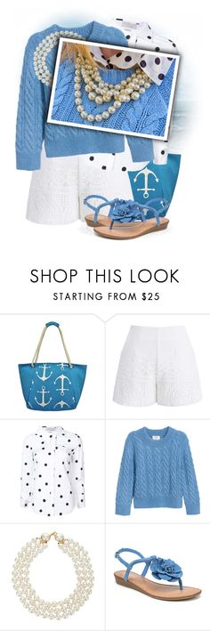 """""""Chicwish Crochet Feast Shorts in White"""" by tasha1973 ❤ liked on Polyvore featuring Chicwish, Monse, Chanel and Carlos by Carlos Santana"""