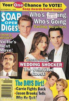 Soap Opera Digest Magazine November 5 1996 Ingo Rademacher Robert Kelker Kelly   eBay