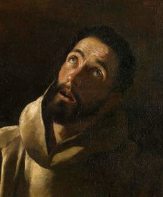 "Francisco de Zurbarán  ""La Porciúncula"" (details), 1630  Saint Francis of Assisi and the Miracle of the Roses"