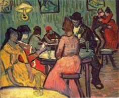 Un bordello di Vincent Van Gogh 1888