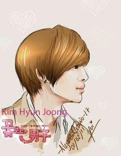 😀😁😊☺  { #KimHyunJoong #Leader #SS501 #TripleS #SuperStarSupporters #GreenPeas #DSPMedia #Kpop #FanArt } ©KpopAmino