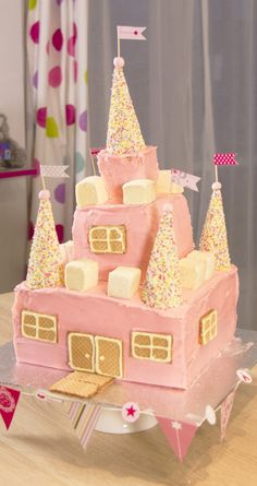 Fashion Cooking Gâteau château de princesse - Fashion Cooking