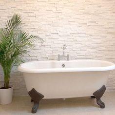 Mrs Stone Store - White Quartz Maxi Split Face Tiles 600x150x8-20mm