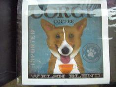 Corgi coffee