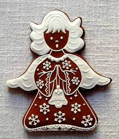 Christmas gingerbread.