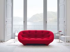 PLOUMUpholstered Fabric Sofa, Design by Ronan Bouroullec, Erwan Bouroullec