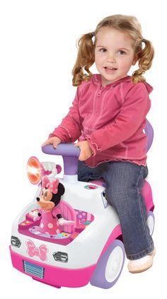 Detské odrážadlo Tancujúca Minnie od #Kiddieland je kvalitné odrážadlo pre deti od 12 mesiacov v ružovej a fialovej farbe. Baby Car Seats, Children, Kids, Continents, Young Children, Young Children, Boys, Boys, Child
