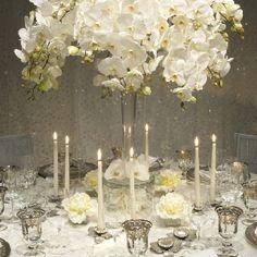 Silver themed wedding