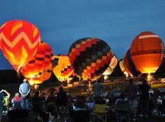15-17 de junio: The Great Galena Balloon Race.