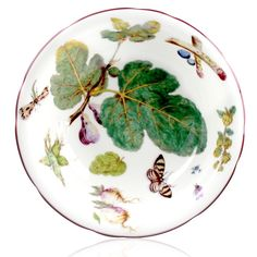 Chelsea Porcelain Salad Dish (copy of Hans Sloane Chelsea porcelain)  £75  | NOTE, THIS IS A COPY. NOT AN ORIGINAL FOR THIS PRICE.