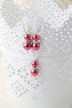22 $ CAN ensemble de bijoux de demoiselle d'honneur par BijouxKarmaJewelry