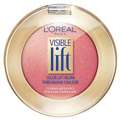 *PEACH-GOLD MY FAVORITE! Visible Lift Color Lift Blush anti-aging face makeup by L'Oreal Paris. Lightweight, anti-aging powder & cream hybrid blush makeup contours cheekbones for younger-looking skin. Cheek Makeup, Contour Makeup, Blush Makeup, Face Makeup, Blush Beauty, Brown Makeup, Gold Makeup, Makeup Set, Blushes