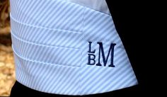 cummerbund i only pinned it cause its my initials just the wrong order:)