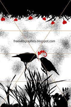 OMG love this beautiful love birds kissing...awwwww